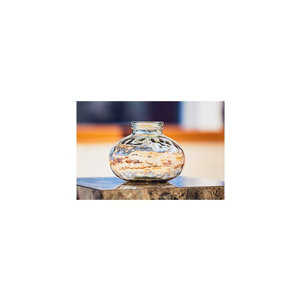 Barcelona globe vase_ Champagne - 2