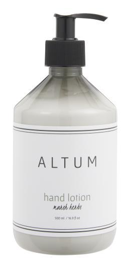 Håndlotion ALTUM Marsh Herbs 500 ml - Butik Prik